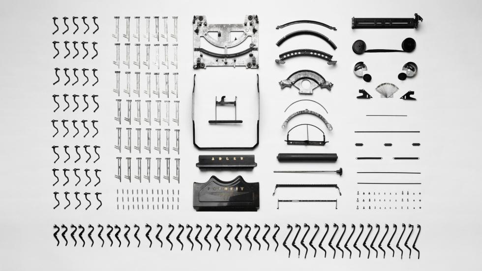 Deconstructed Typewriter